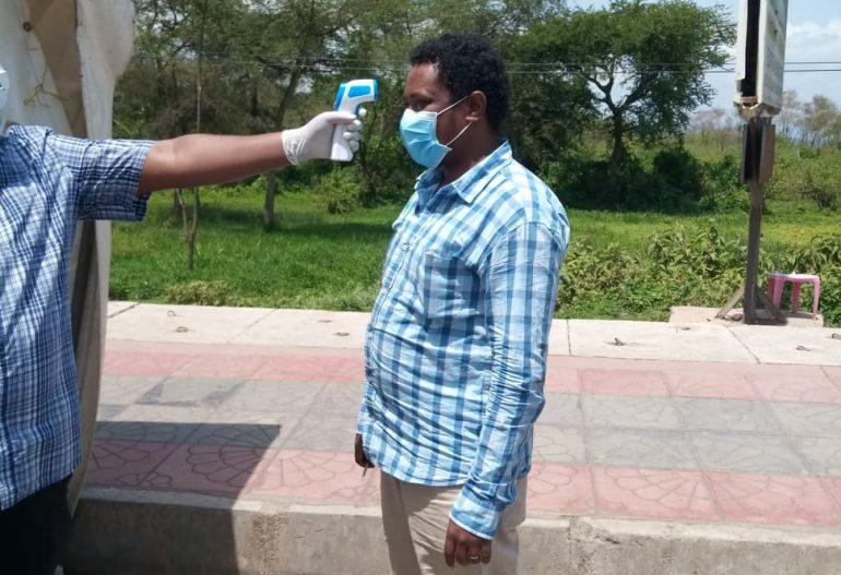CORONA – Infrarot Thermometer – Hilfe für Hawassa